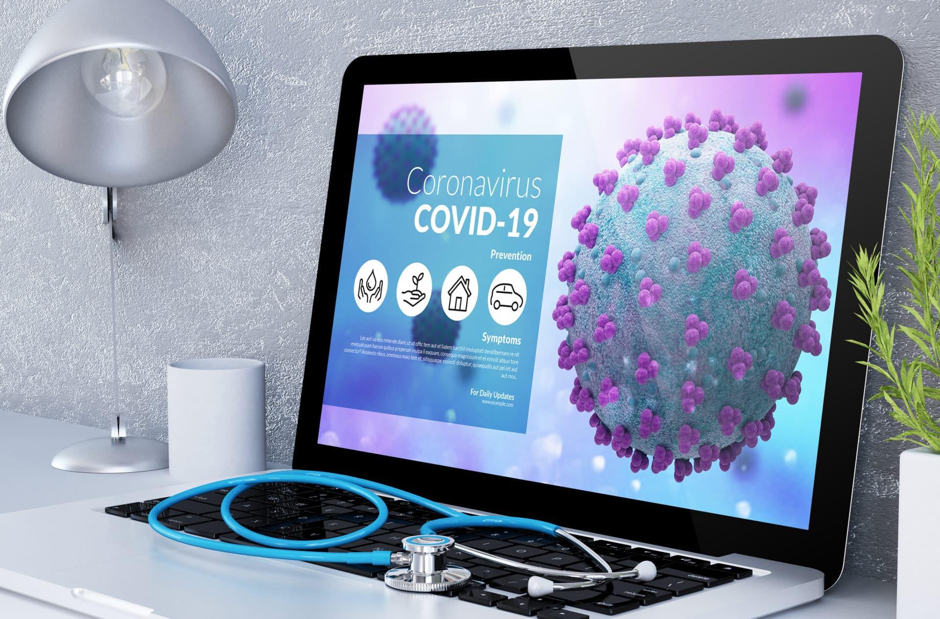 covid-19 info website